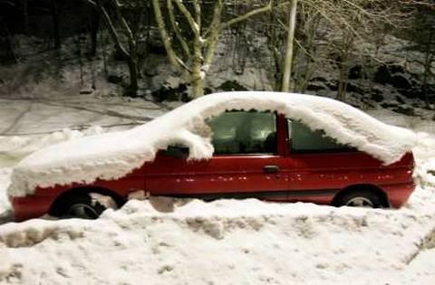 Vinterutrusta bilen