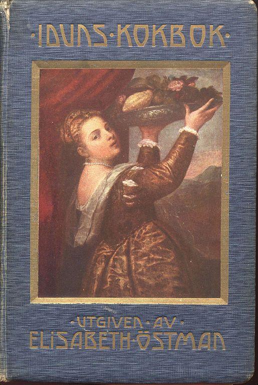 Bild på Iduns kokbok av Elisabeth Östman