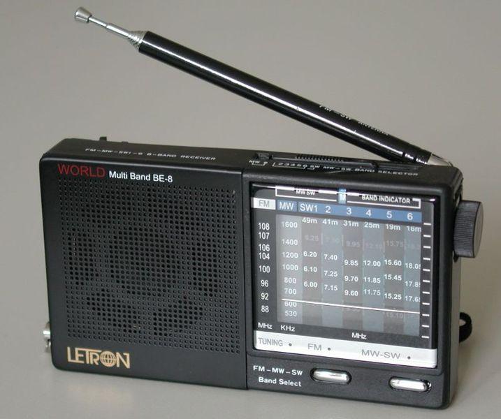 Transistorradio Batteri
